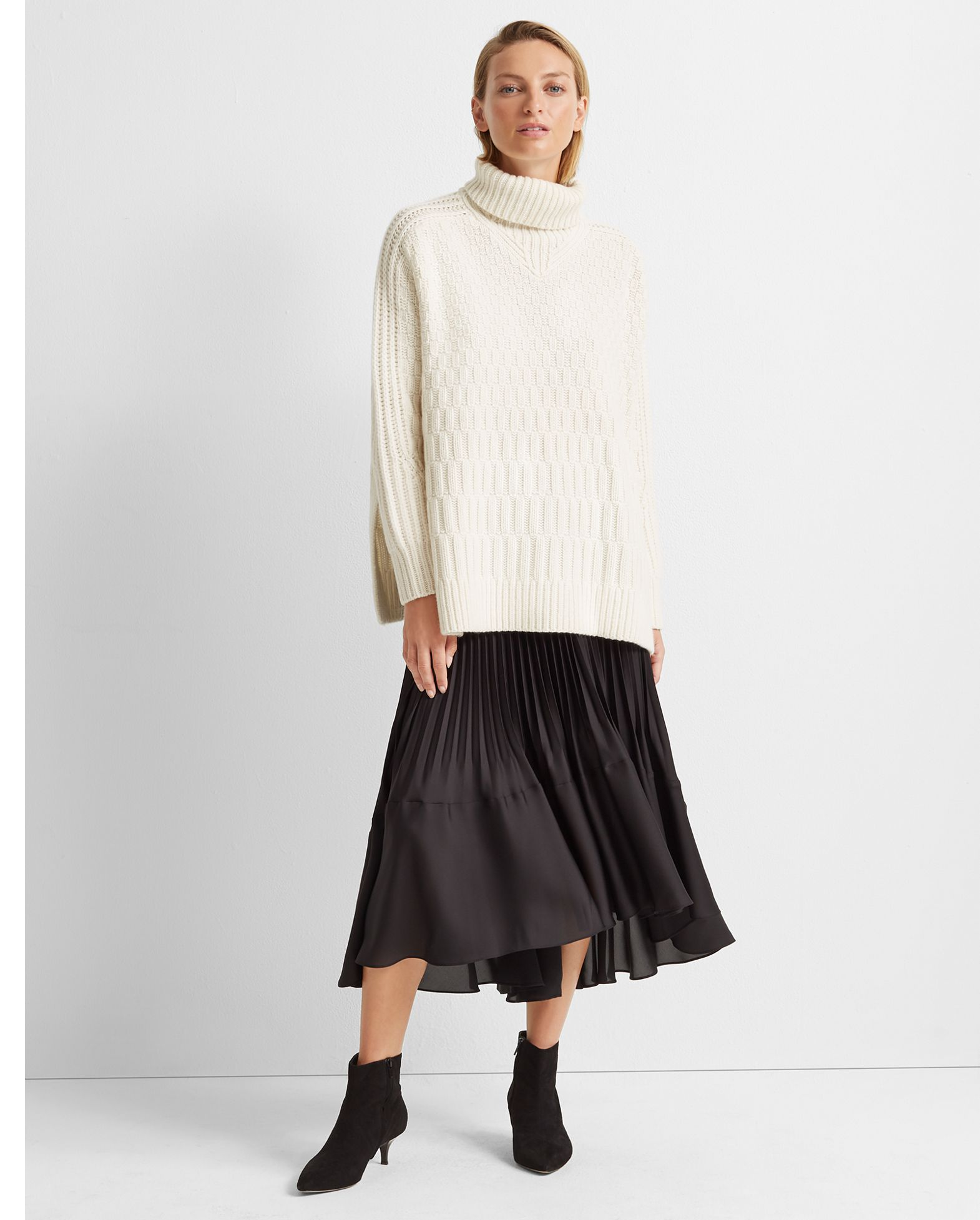 Stitch Cashmere Sweater by Club Monaco