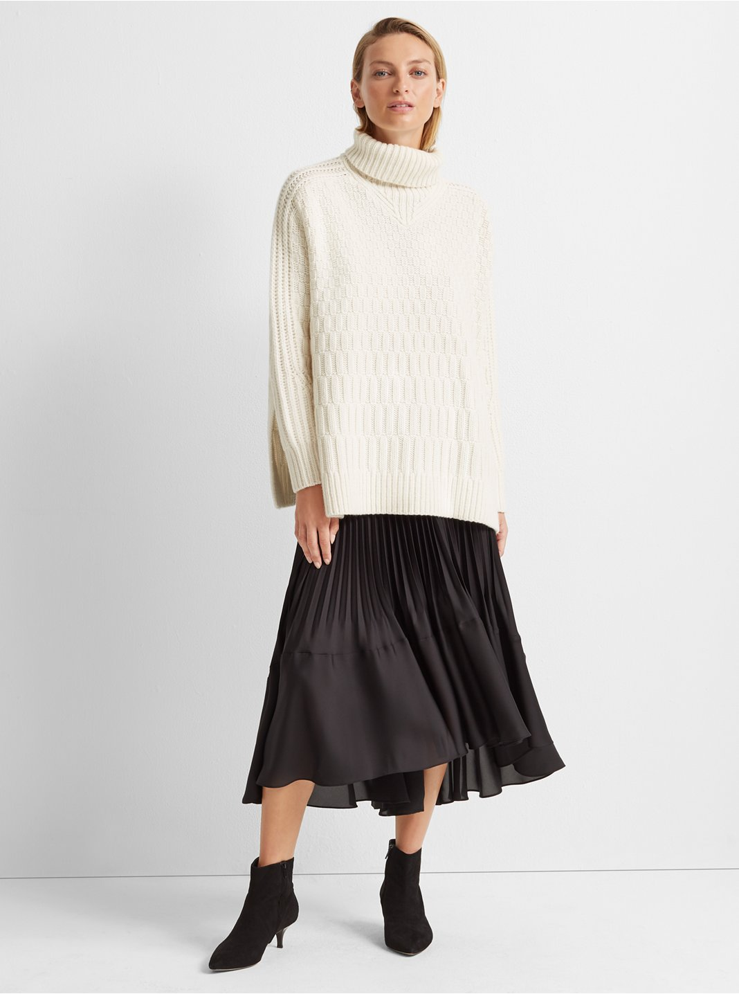 Stitch Cashmere Sweater