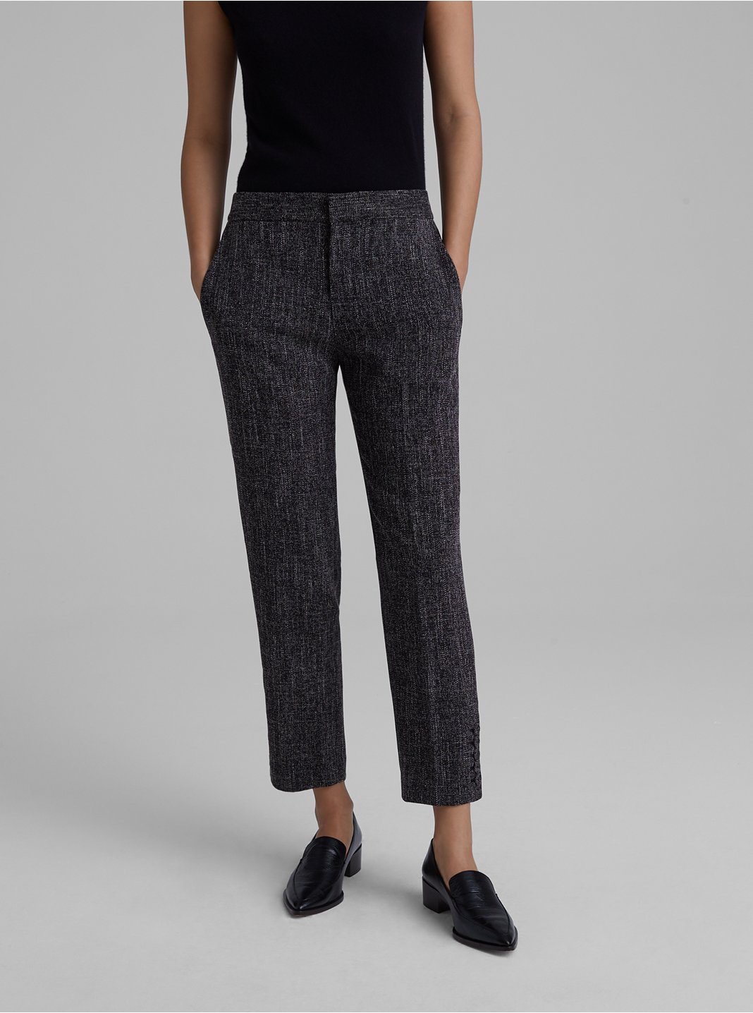 Self-Cover Button Pant