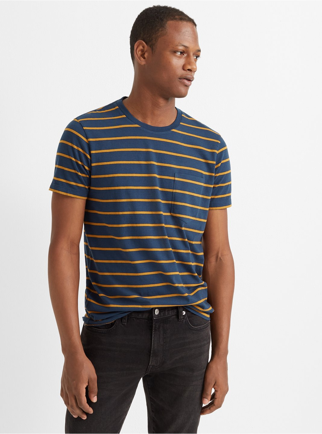 Williams Stripe Pocket Tee
