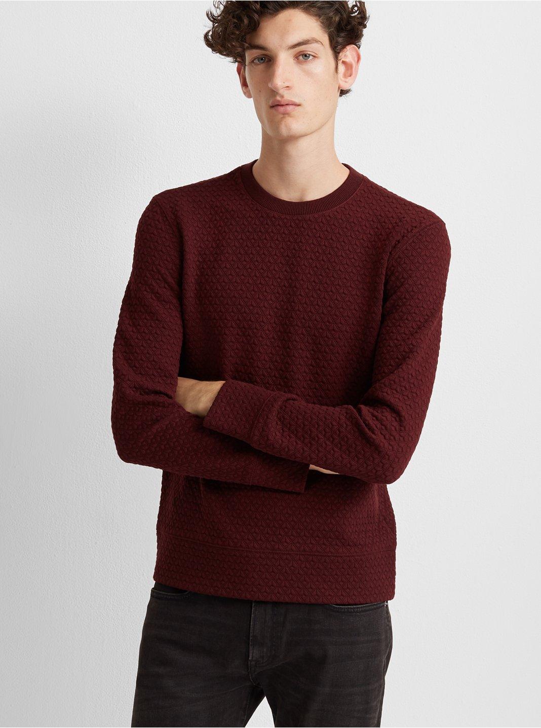 Deco Quilt Sweatshirt