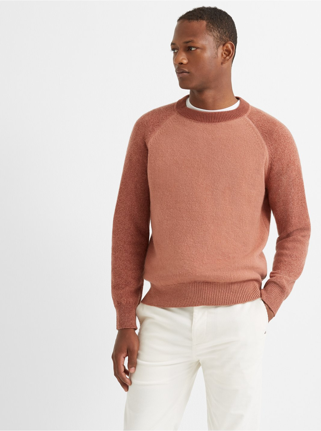 Garment-Dyed Sweater