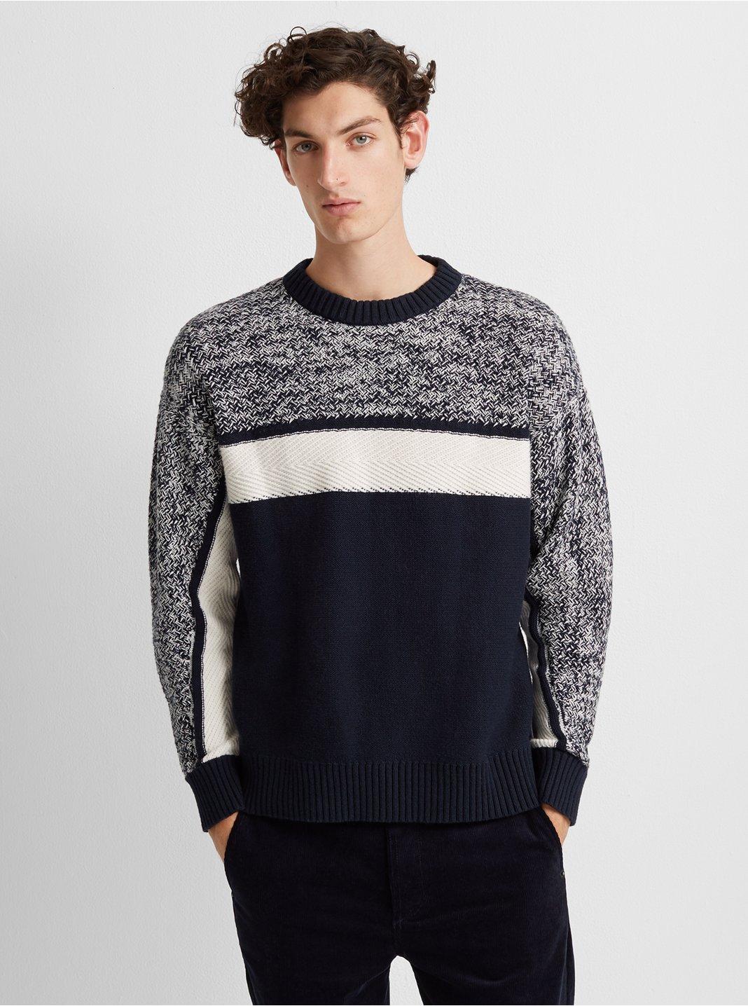 Fisherman Crewneck Sweater