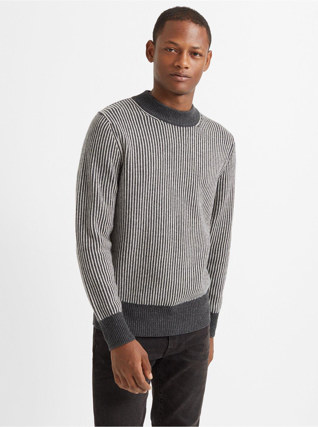 Cashmere Novelty Rib Sweater