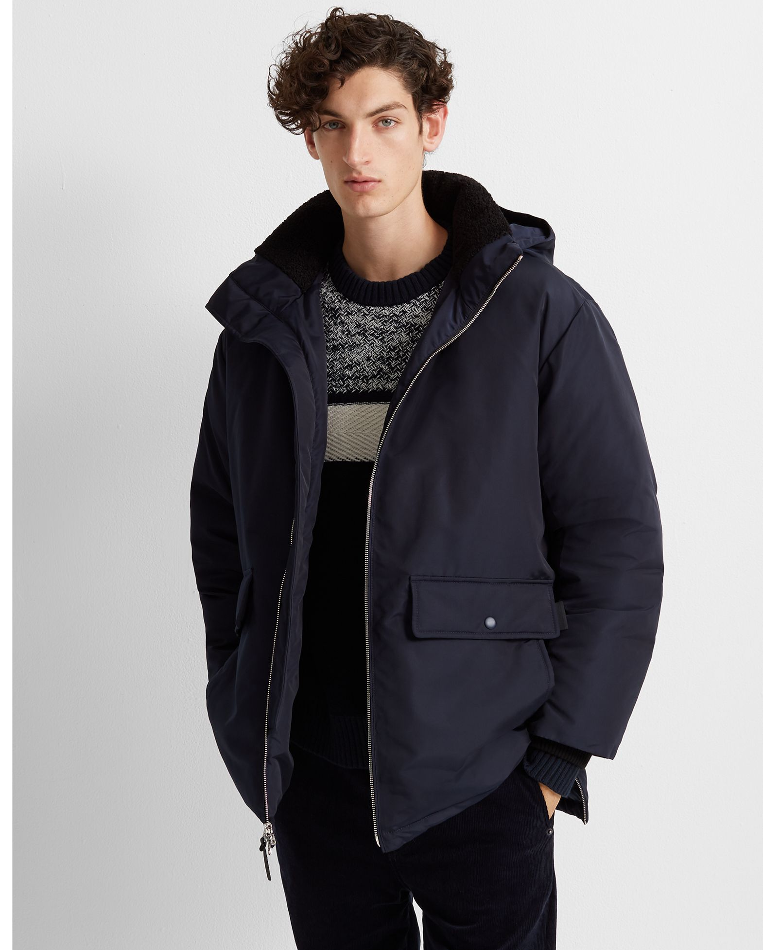 Down Puffer Jacket by Club Monaco
