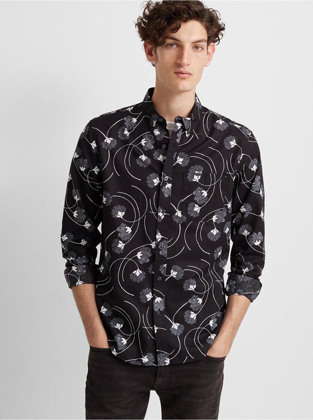 Slim Nouveau Swirl Shirt